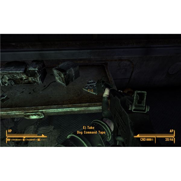 Fallout: New Vegas Dead Money Walkthrough - Finding Collar 8 - Dog's Command Tape