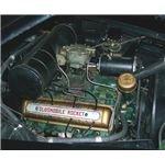 Oldsmobile Rocket V8 OHV engine from Wikimedia Commons by Zandome