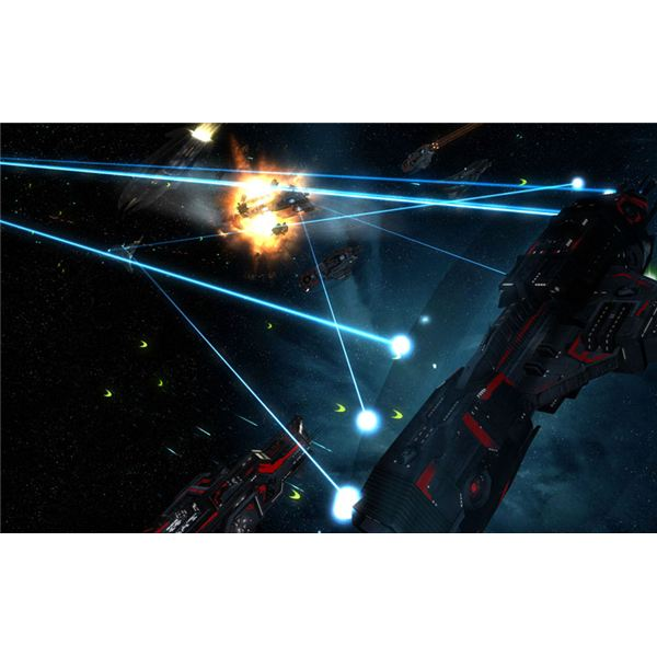 Defending trade routes in Sins of a Solar Empire is crucial to victory.