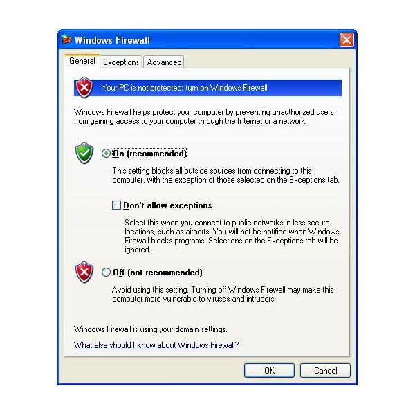What to do When Windows Firewall is Grayed Out