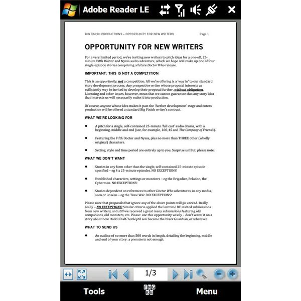 Pdf Reader For Mobile Phone
