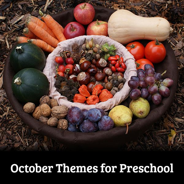 An Educational Guide to October Preschool Themes