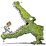 Ever thought about being a crocodile wrangler?
