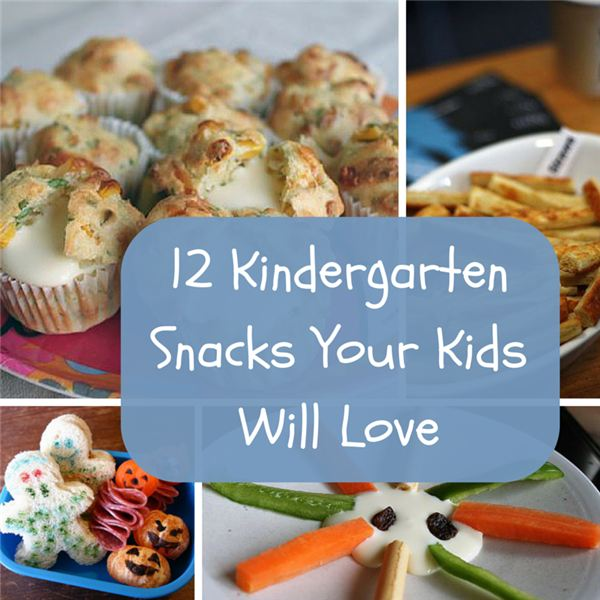 12 Kindergarten Snacks Your Kids Will Love