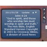 Bible Verse of the Day Windows 7 Gadget