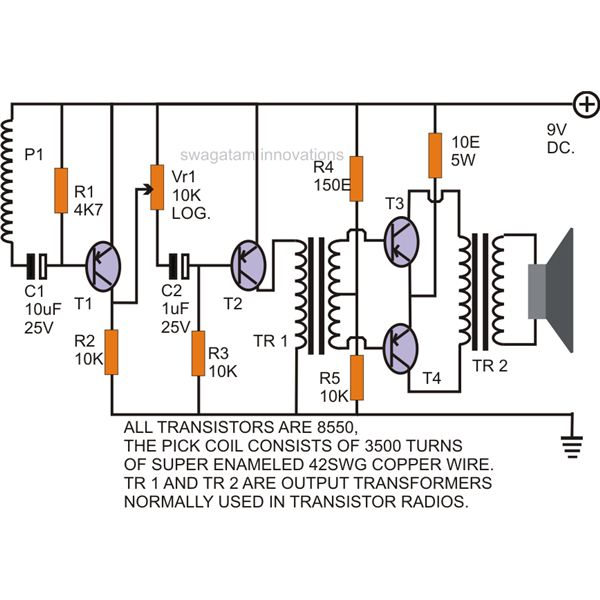 Build A Telephone Record Control Circuit Diagram All About Wiring