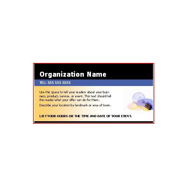 Microsoft Office Promotional Listing
