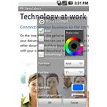QuickOffice for Android Editing Options