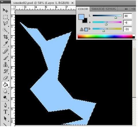 Polygonal Filled Shape