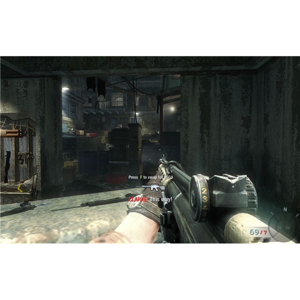 Call of Duty: Black Ops Walkthrough - Protecting Dr. Clarke While He Unlocks the Door