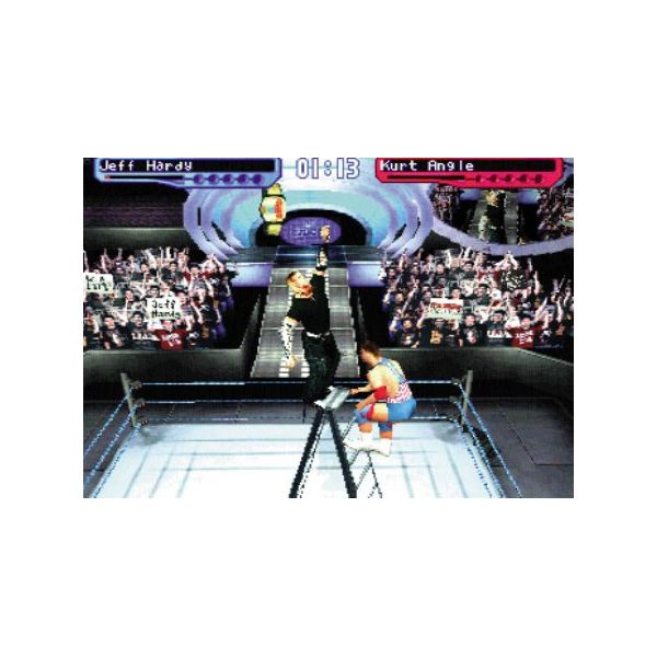 The SmackDown! series was known for its enjoyably-paced arcade gameplay.