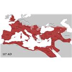 Roman Empire from Wikipedia Commons