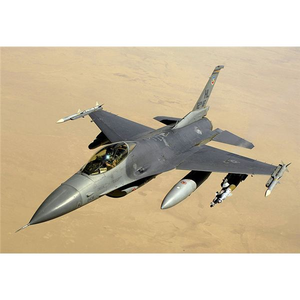 Identification of Military Airplanes--The F-16 Fighting Falcon