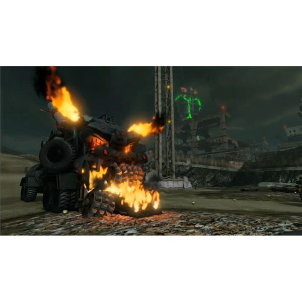 Nuke Mode's Missile Sacrifice Machine From Twisted Metal (PS3)