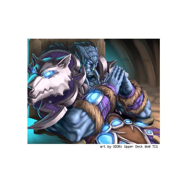 wow worgen, probably not a shaman