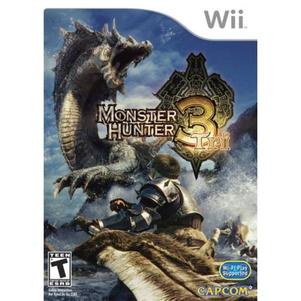 Monster Hunter Tri Review for Nintendo Wii