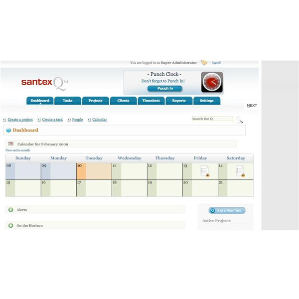 SantexQ is a great program for those wishing to manage their projects.