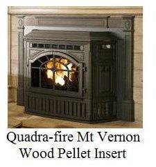 Quadrafire MtVernon Pellet Insert