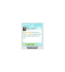 Twitter WidgetBox