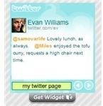 Twitter Widget from WidgetBox