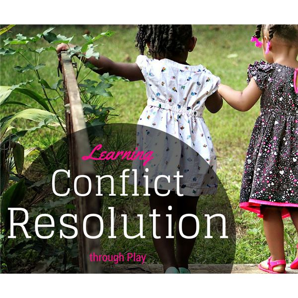 Preschool Conflict Resolution through Play