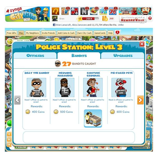 Facebook Game Guides: CityVille Police Station Guide