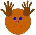 Handprint Moose