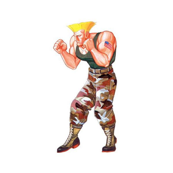 All About Guile in Street Fighter