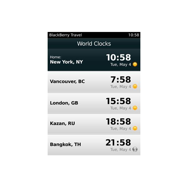 A Complete Guide to the BlackBerry Travel App