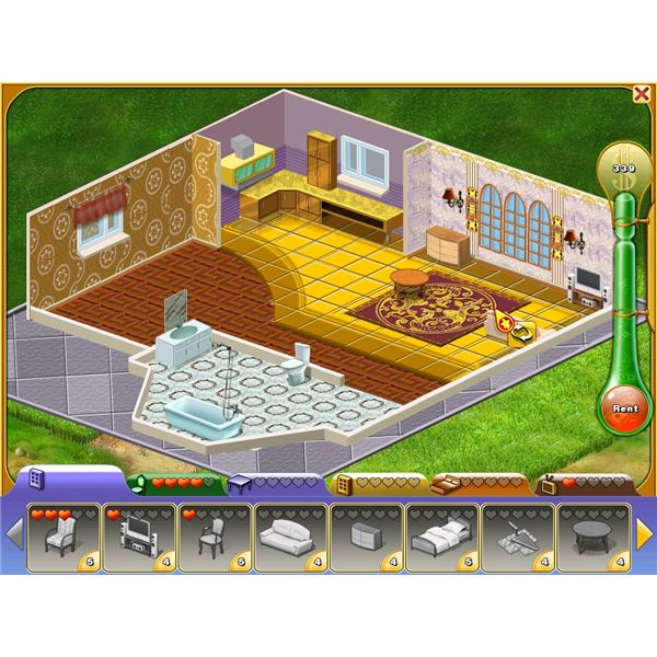 Customizing a house just like The Sims