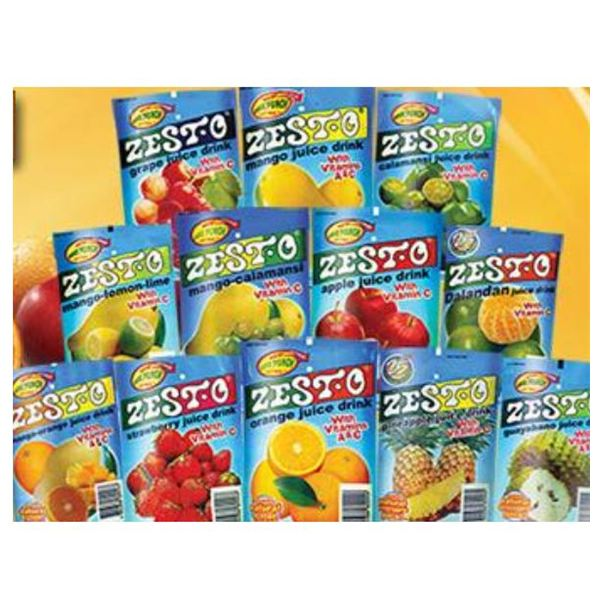 Zest-O Juice Drinks