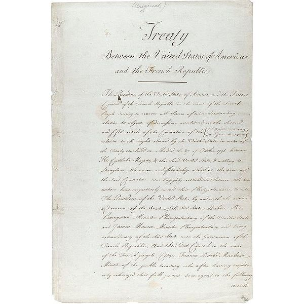400px-Louisiana purchase treaty