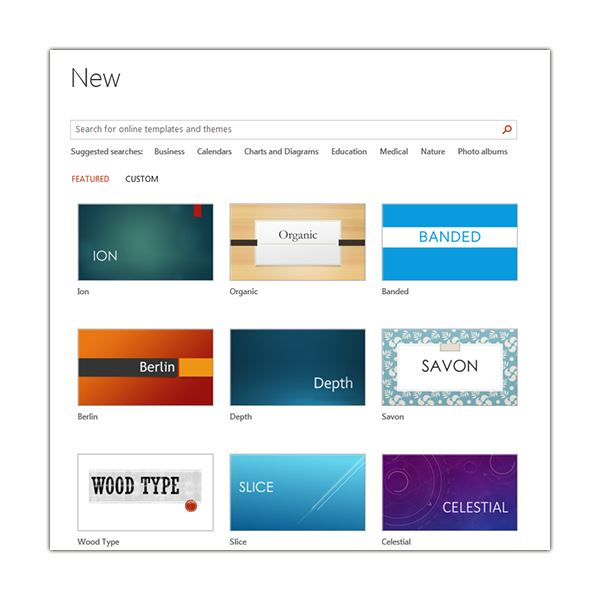 Customizing a theme in microsoft powerpoint 2013 powerpoint themes toneelgroepblik Gallery
