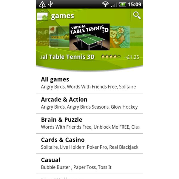 Android Market Games