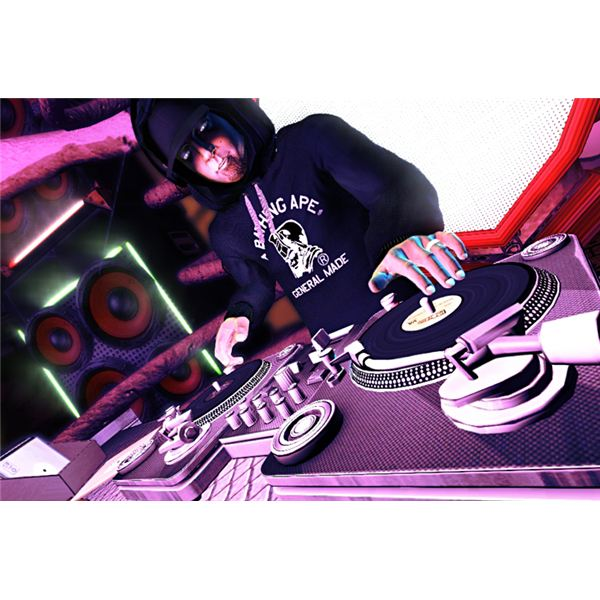 DJ Hero Screenshot 4: DJ Shadow