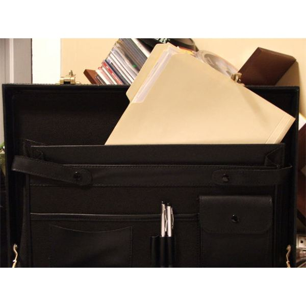 Briefcase and File