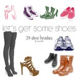 Lets Get Some Shoe shoe brushes by Love2B