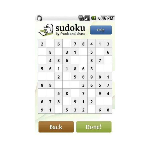 Sudoku by Frank and Chase