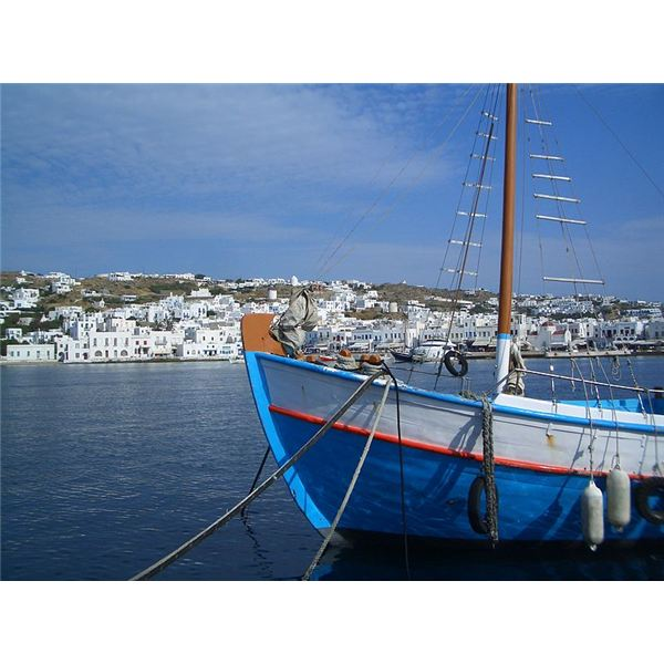 Harbor of Mykonos