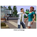 sims 3 doctor profession - giving shot Sims3