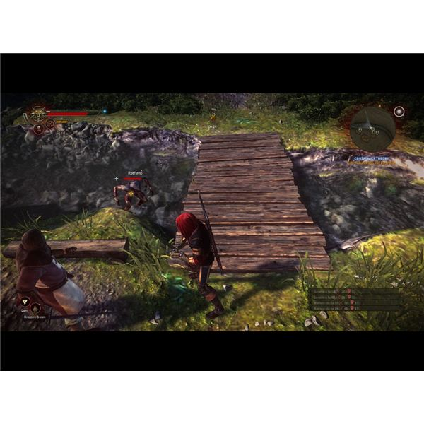 Witcher 2 Walkthrough - The Rotfiend Contract