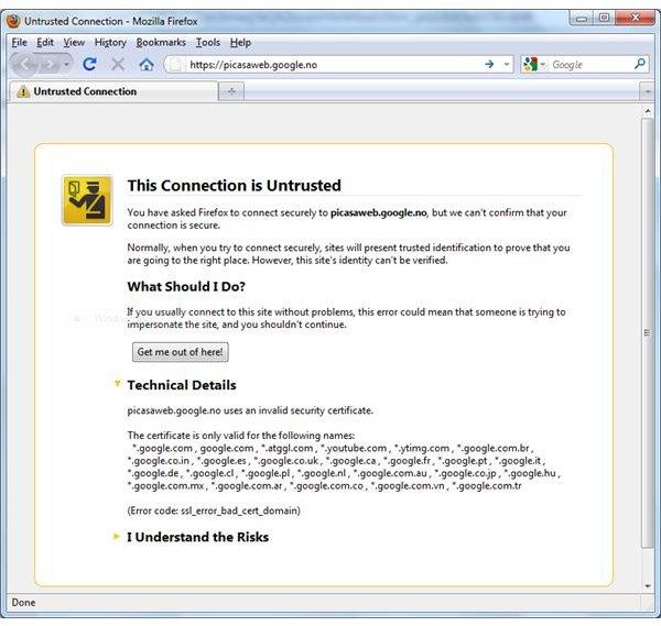 Firefox Error Messages: Firefox Won\'t Start