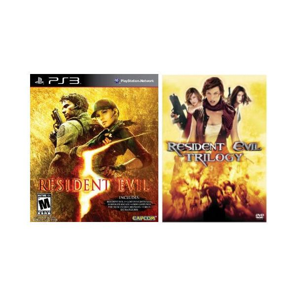 Resident Evil game and movie