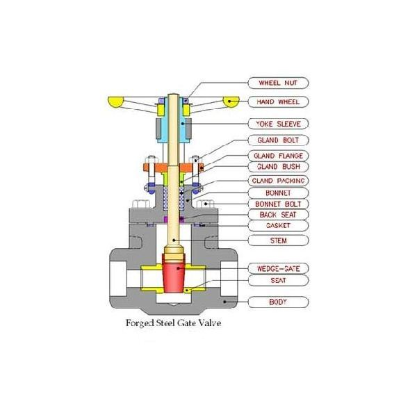 gate valve construction