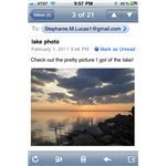 Email photo attachment on iPhone screenshot 2