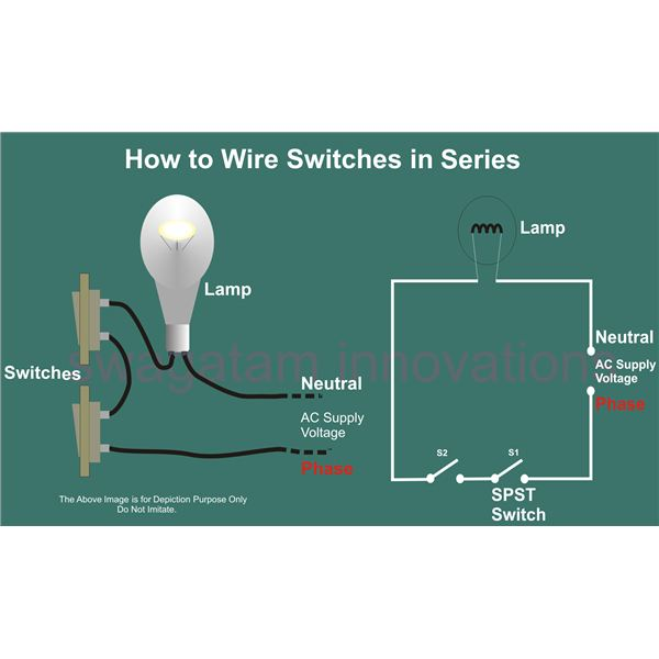 help for understanding simple home electrical wiring diagrams speaker wiring parallel or series how to wire switches in series, circuit diagram, image