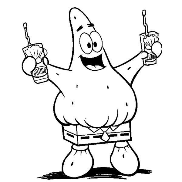 SpongeBob Coloring Sheets for Free