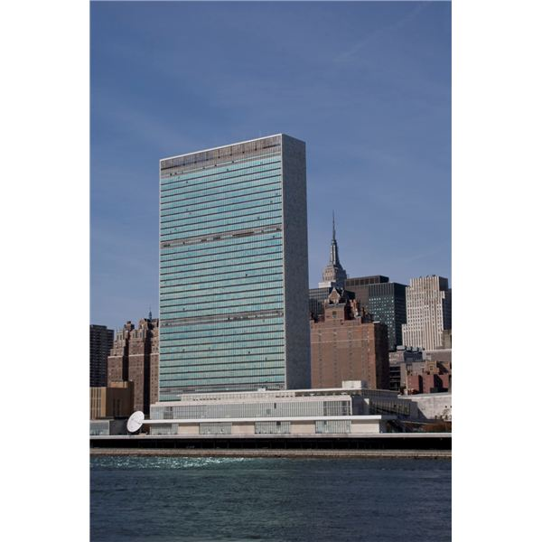 United Nations Building - Original Photo