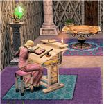 The Sims Medieval monarch items