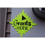 Grants Here Sign by Stevendepolo